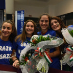 Italia volley a Malpensa post mondiali 04