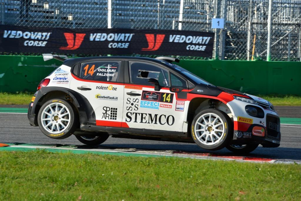 Motors Rally Show, Ogliari in pista