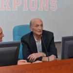 presentazione football SKORPIONS 72 presidente mangano