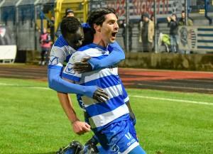 busto arsizio pro patria lucchese gol 2-2