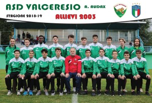 Allievi provinciali 2003 valceresio