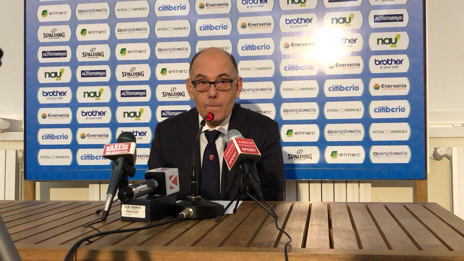 """Caja:""""Contento miei giocatori"""". Koukouris:""""Varese favorita per la Coppa"""""""