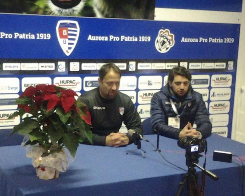 """Javorcic: """"Contento dei ragazzi, ci abbiamo provato"""", Boffelli: """"Buona partita, è mancato il gol"""""""