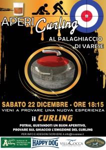 curling locandina palaghiaccio