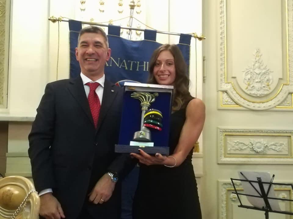 Fiamma Panathlon alla stella Chiara Lualdi