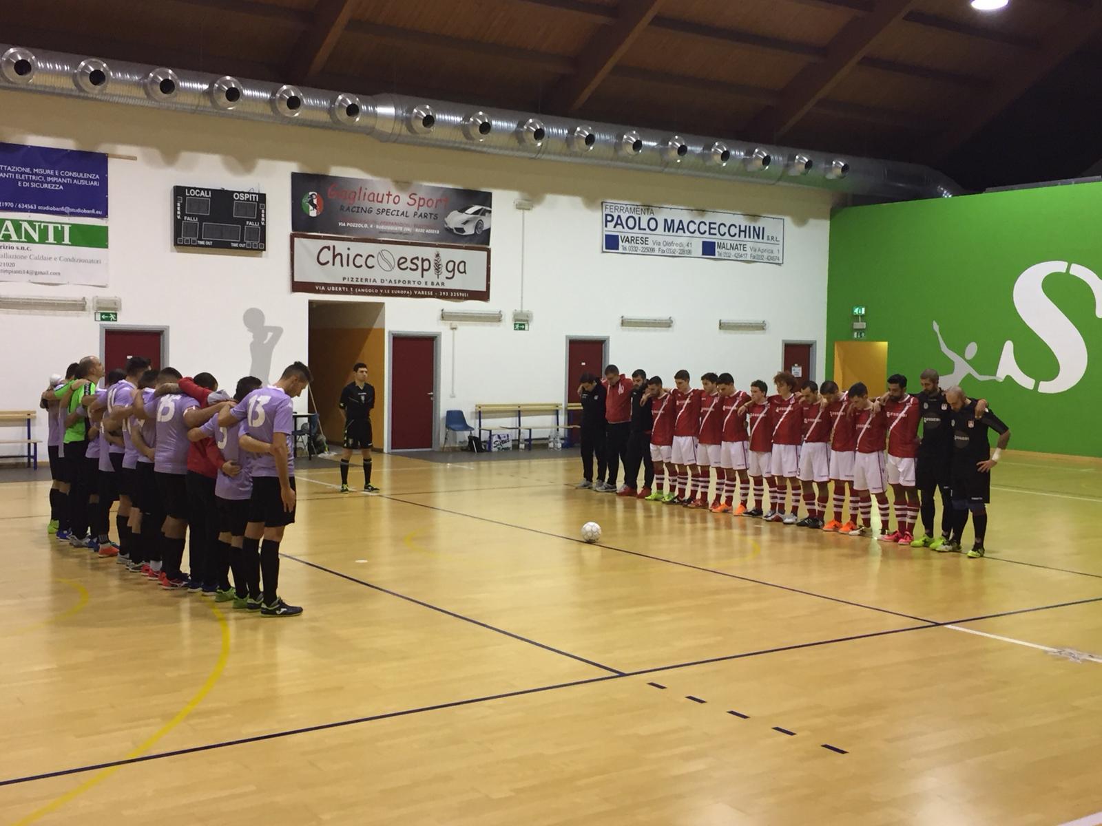 Calcio a 5 – Il Futsal Varese pareggia con una capolista e attende l'altra