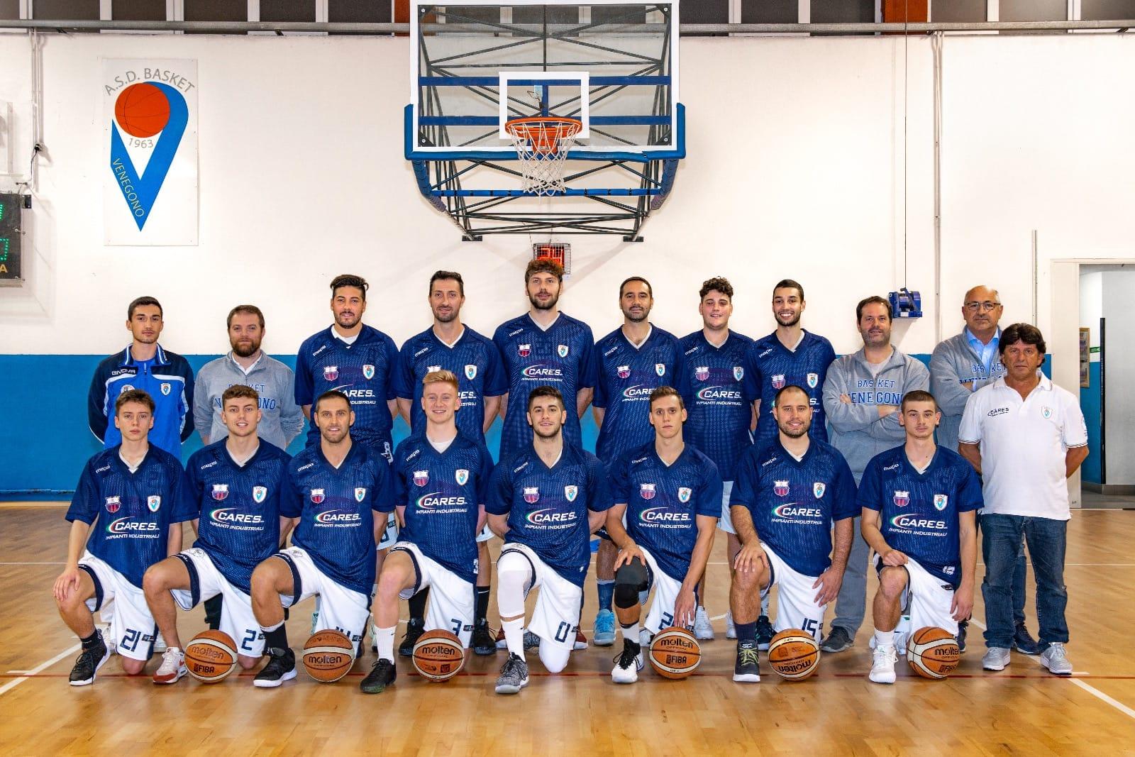 """Serie D – Basket Venegono, obiettivo C2: """"In forma per il ballo finale"""""""