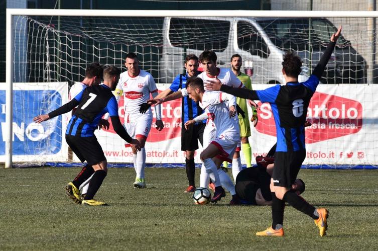 Varesina-Busto 81 finisce 1-0: decide Broggi di testa