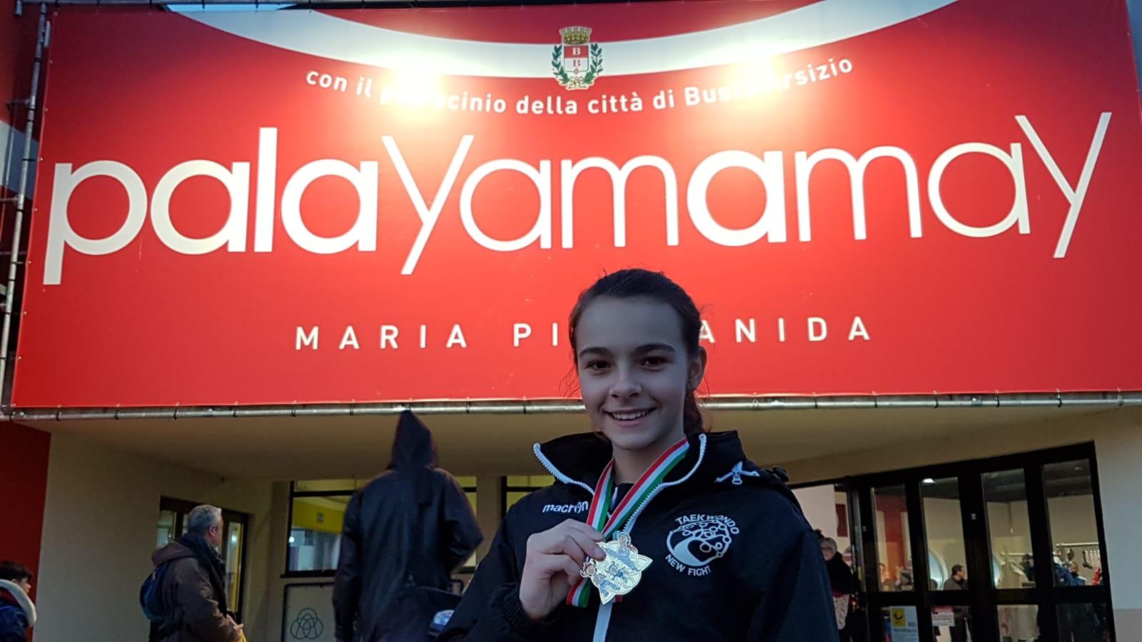 Taekwondo – Oro per la giovane Letizia della New Fight