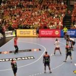 Mondiali Pallamano palazzetto Danimarca-Norvegia