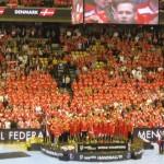 Mondiali Pallamano palazzetto Danimarca podio