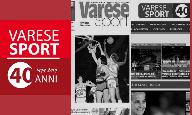 Correva l'anno 1979 e nasceva Varese Sport