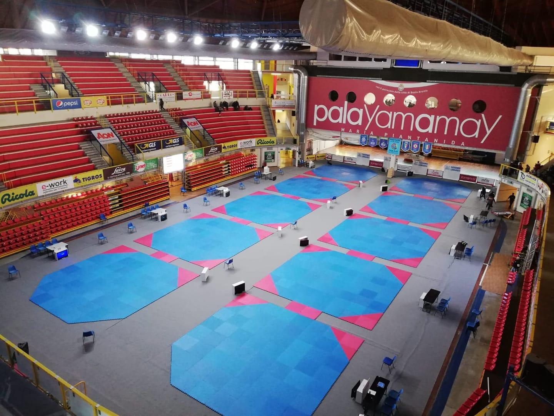 Al Palayamamay il meglio del taekwondo