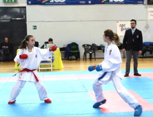 alessandra bossi karate 1