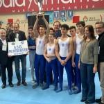 campionato italiano ginnastica artistica al Palayamamay 15