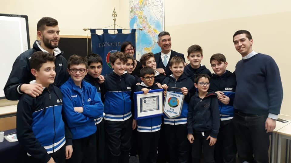 Il Panathlon Malpensa premia l'Ardor: Fair Play 2018 davanti a Ferri e Montesano
