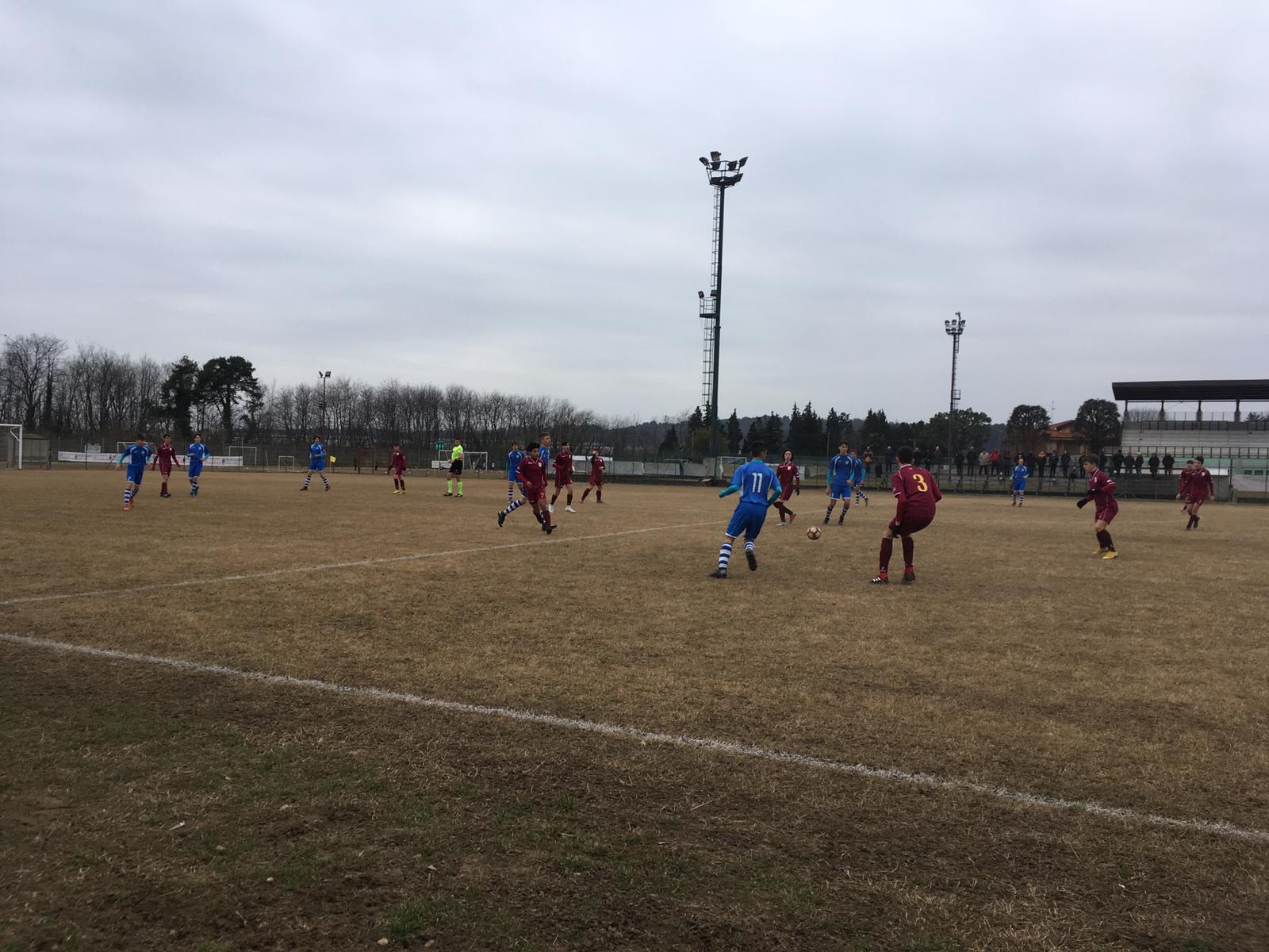 Giovanissimi Provinciali 2004 – Gir. A: pari nel derby. Gir. B: big match in parità. Gir. C: 8 reti a Laveno