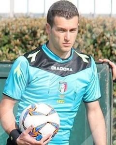 Michele Giordano arbitro