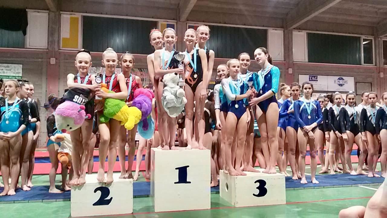 Tre vittorie a squadre per l'OmniaGym Sportpiù
