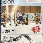 1989 copertina secondo scudetto hockey