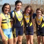 4x allieve Canottieri Luino a Candia