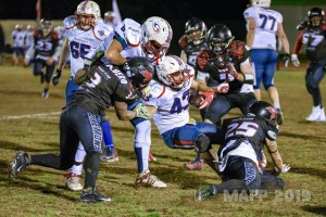 Daemons vs Blue storms football by MAFP