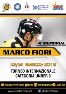memorial marco fiori 2019 locandina
