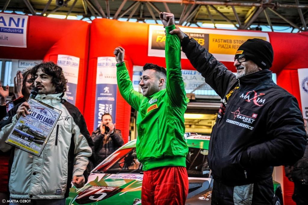 Giò Di Palma al Rally dei Laghi per difendere il titolo