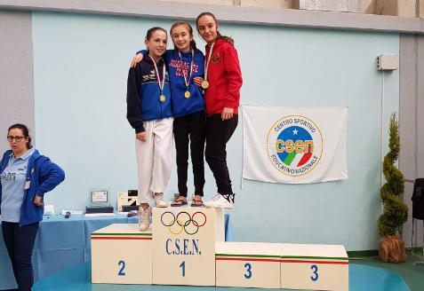Karate, Alessandra Bossi prima a Sabbioneta