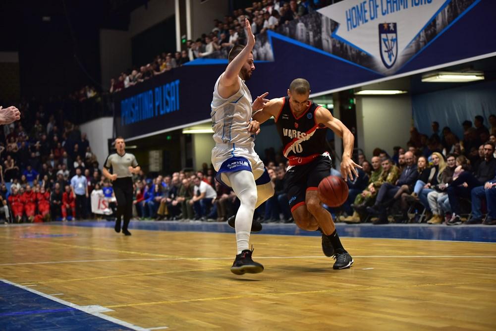 Varese, rimonta vincente a Prishtina: 77-80