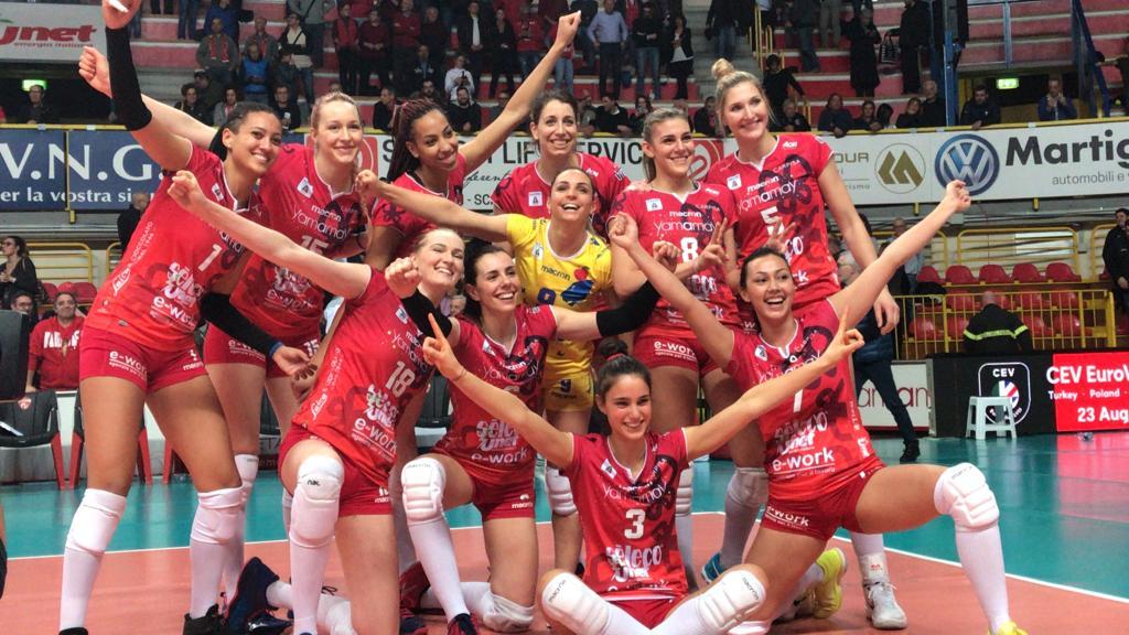 Missione compiuta, UYBA in finale di Coppa Cev