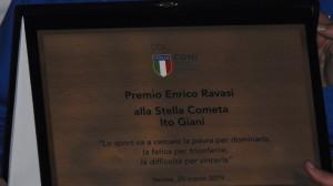 Targa Premio Ravasi