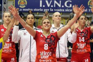 UYBA-Monza gara-1 quarti playoff by Molinari 13 orro