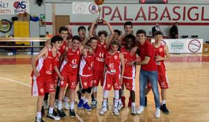 under 14 pallacanestro varese campioni regionali