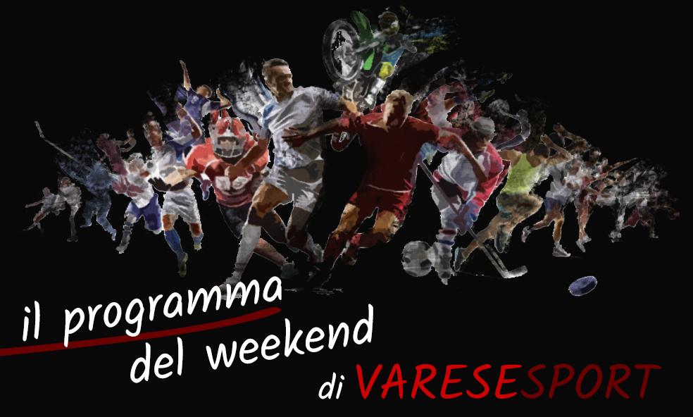 Il programma sportivo del weekend del 18-19 settembre