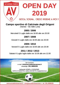 open day accademia varese