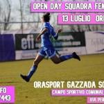 open day orasport gazzada schianno femminile