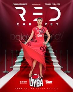 campagna abbonamenti uyba 2019 2020 gennari red carpet