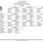 calendario terza categoria