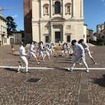flash mob accademia scherma gallaratese 07