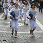 flash mob accademia scherma gallaratese 08