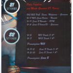 memorial francesca basket femminile 3 secondo weekend