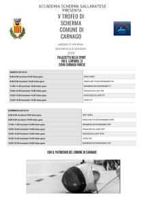 trofeo scherma carnago accademia gallaratese