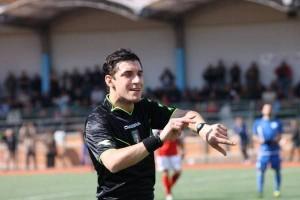 arbitro Emanuele Frascaro di Firenze