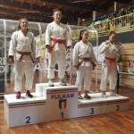 Mara F. e Ferracini E. sul podio