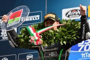 Thomas Brianti campione italiano Supersport300 2
