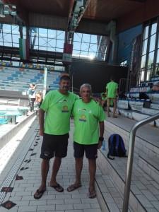 Ramon Garcia e Maurizio Migliaccio