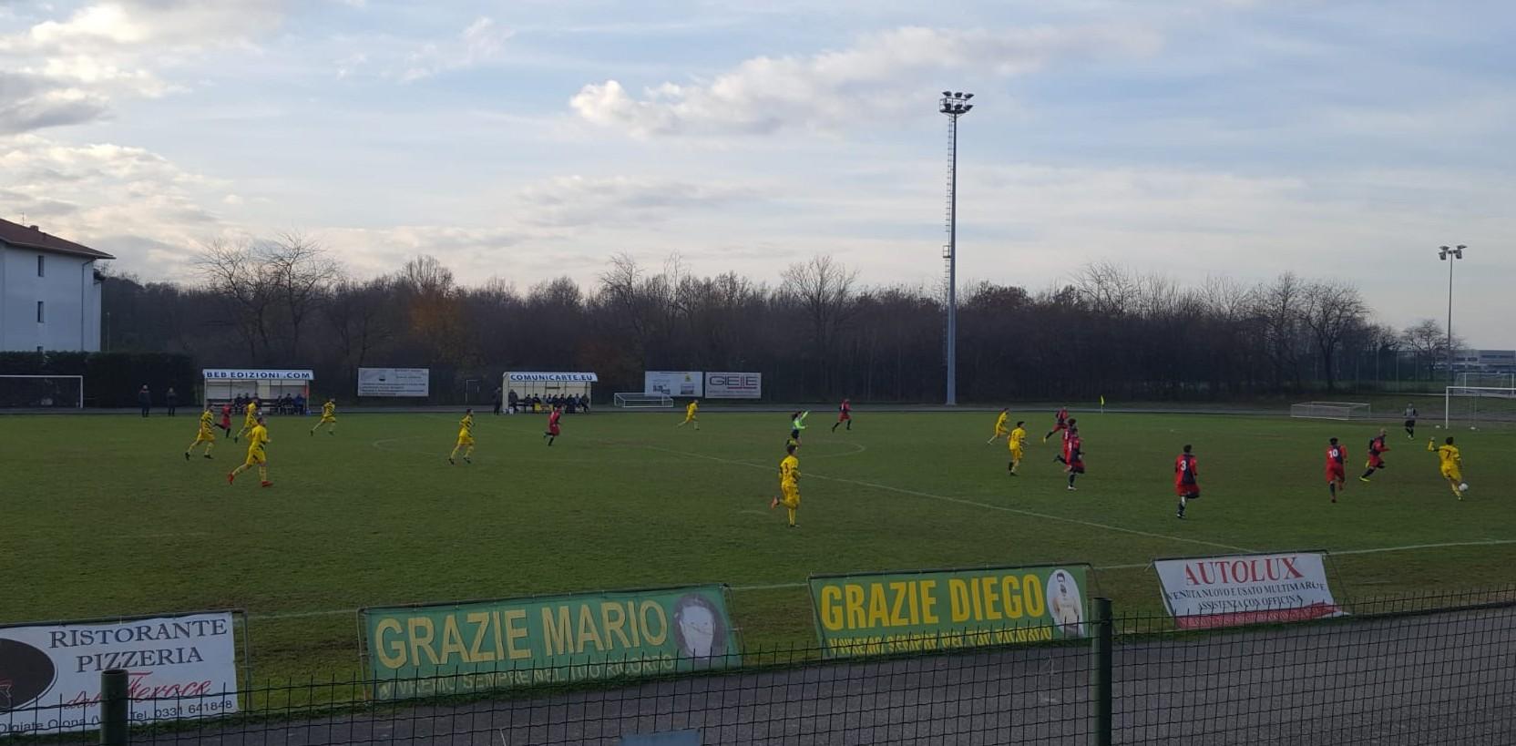 Testacoda Olgiatese – Nerviano e Villa Cortese – Borsanese. Pro Juventute – Solbiatese da playoff