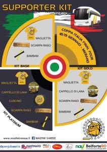 Kit tifoso Final Four Coppa Italia