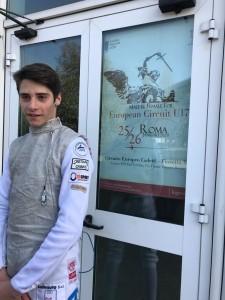 Tommaso Roma Cadetti Circuito Europeo